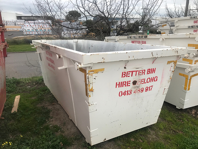 4m Dumpster